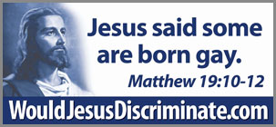 would Jesus discriminate